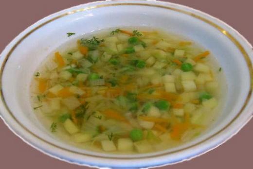Рецепт супа горошек для детей