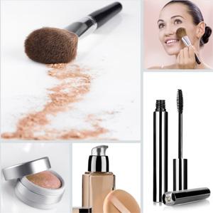 Модный макияж для брюнетки с зелеными глазами