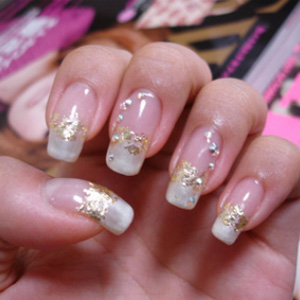 красивые ногти фото 2016 с рисунком с блестками