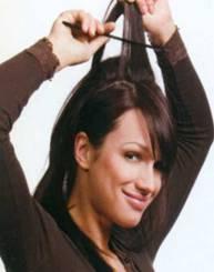 Прическа Фантастическая элегантность на средние волосы - фото 4