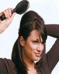 Прическа Фантастическая элегантность на средние волосы - фото 5