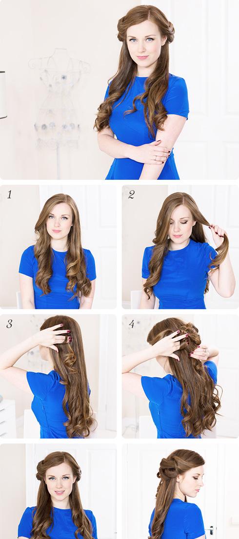 Романтичные прически на длинные волосы своими руками