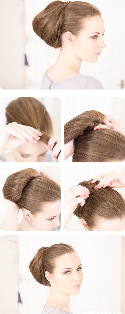 Как сделать причёску 50-х
