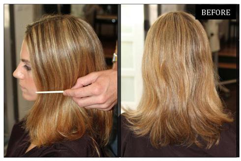 мелирование на тёмные волосы с челкой фото до и после