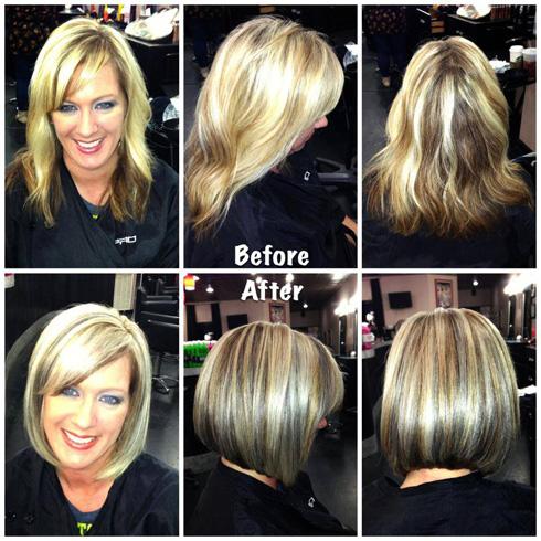 Видео выполнения колорирования волос