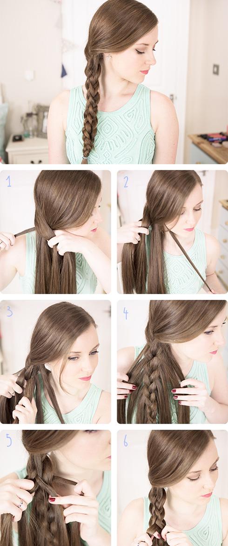 Прическа на праздник своими руками на длинные волосы