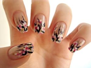 Уроки росписи акриловыми красками на ногтях видео