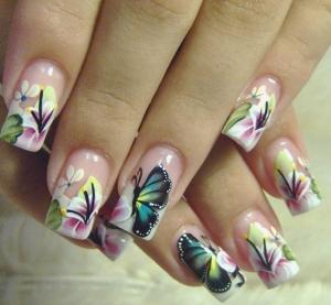 Дизайн ногтей роспись видео