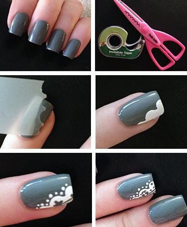 Как рисовать на ногтях в домашних условиях на коротких ногтях