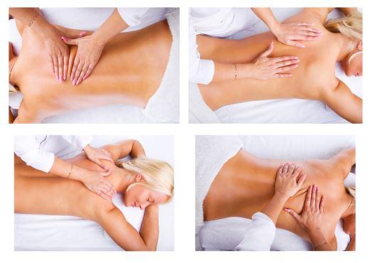 Как себе сделать массаж на спине 695