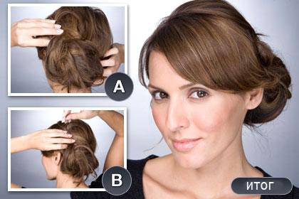 Домашние прически для средних волос не очень сложные, да и времени занимают не много.