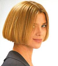 Модно и интересно каре на волосы