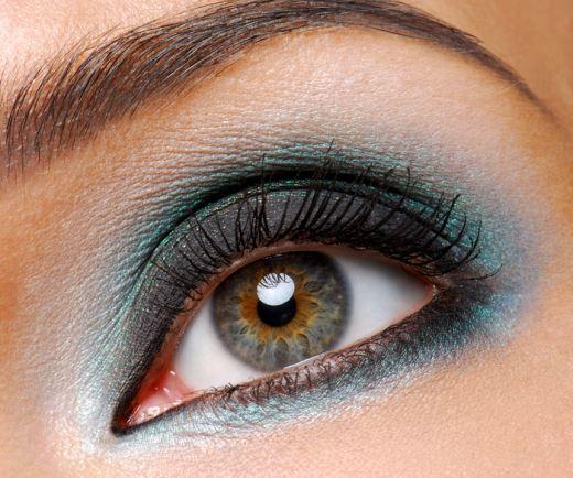 Макияж для маленьких глаз, как увеличить глаза макияжем