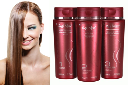 Средства для выпрямления волос - кератин