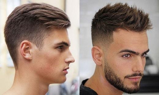Молодежные прически мужские на короткие волосы