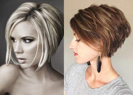 Женская причёска боб
