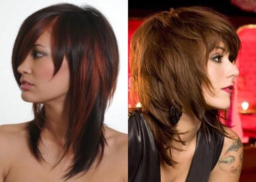Креативные стрижки на длинные волосы 2017 женские фото