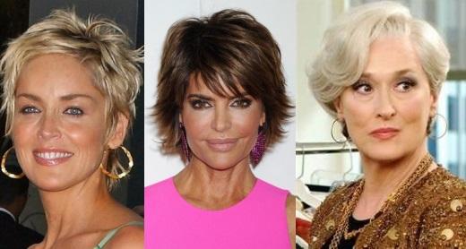 Как уложить волосы пожилой женщине
