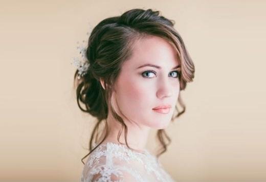 Как делать свадебные прически