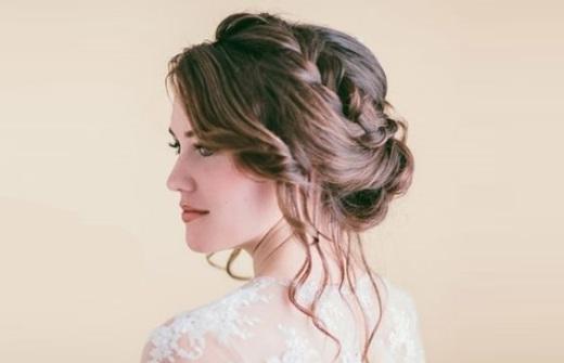 Свадебные прически своими руками