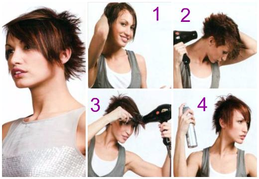 Как уложить волосы асимметрично