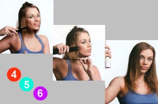 Укладка волнистых волос средней длины