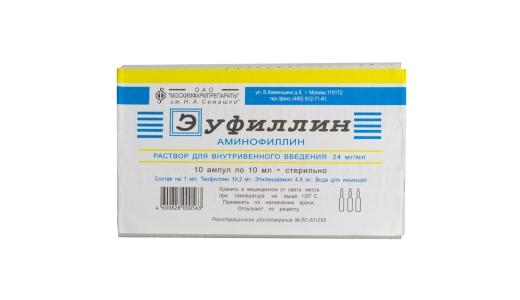 Аминофиллин инструкция по применению