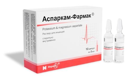 препарат аспаркам инструкция по применению - фото 6