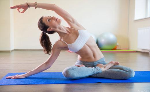 йога при ожирении