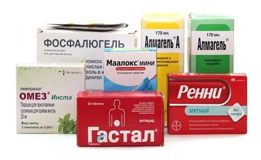 Препараты от гастрита: как лечить правильно