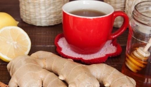 Лечение оспы имбирный чай
