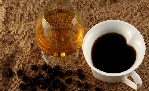 кофе и алкоголь