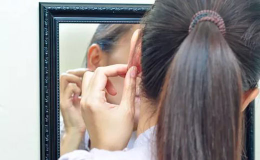 перелом уха