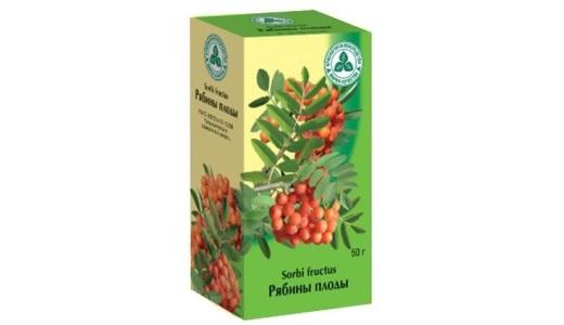 Лечение малокровия плоды рябины