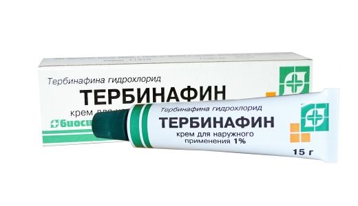 Тербинафин применение для лечения