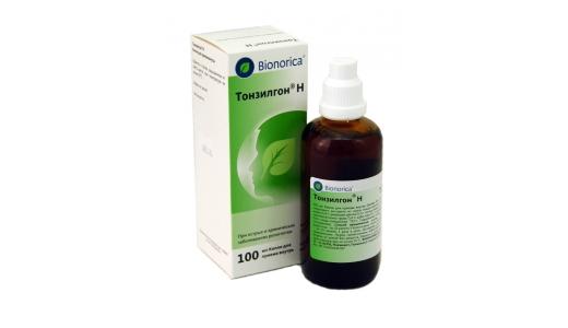 Тонзилгон применение для лечения