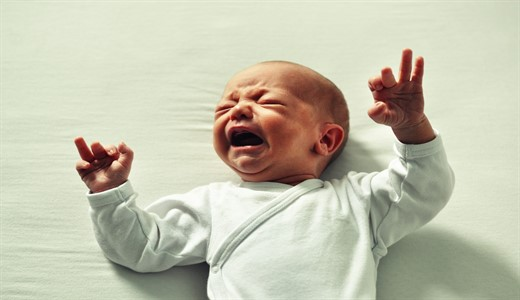 Вздутие живота ребенку месяц