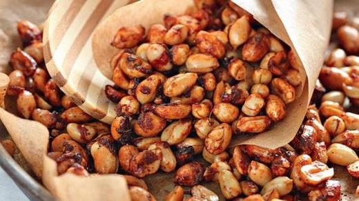 Жаренный арахис