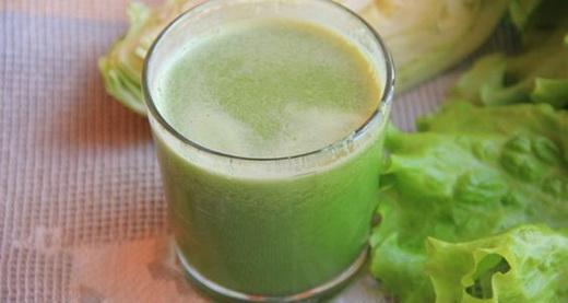 Сок из белокочанной капусты