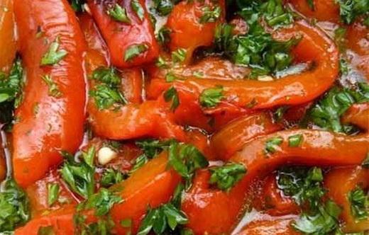Болгарский перец в блюдах