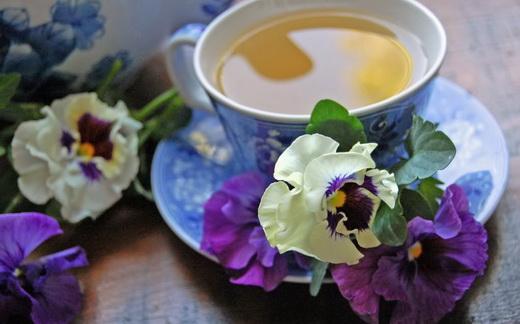 Чай из фиалки