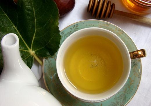Чай с листьями фиги