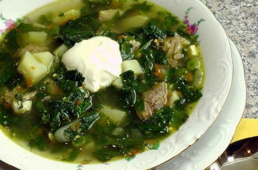 Суп с гравилатом
