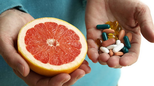 Возможный вред грейпфрута