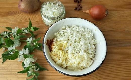 Салат из яснотки
