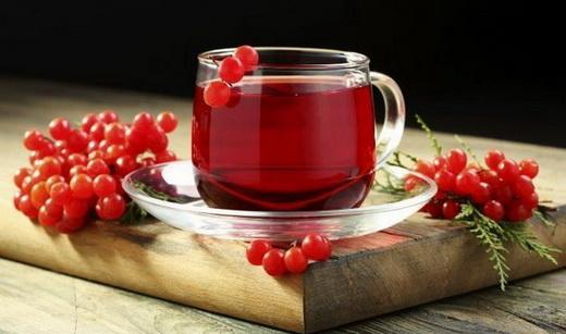Свойства чая из калины