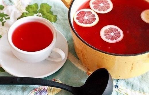 Клюквенно-цитрусовый сок