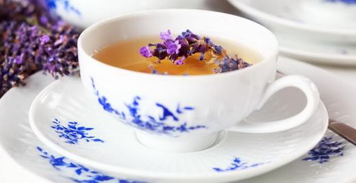 Свойства лавандового чая