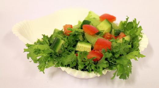 Салат с листьями айсберга
