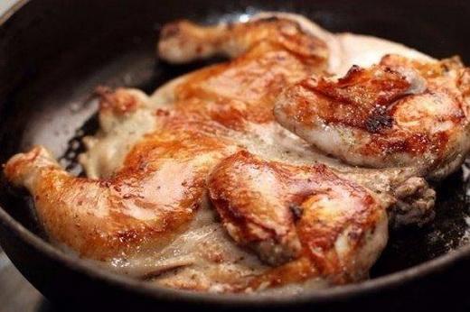Цыпленок с семенами горчицы